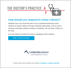 The Doctor's Practice Cover Image