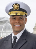 United States Surgeon General Vice Admiral Jerome Adams, MD, MPH.